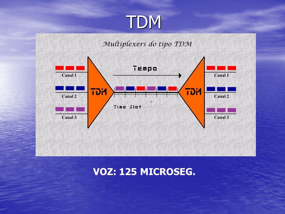 TDM TDM VOZ: 125 MICROSEG.