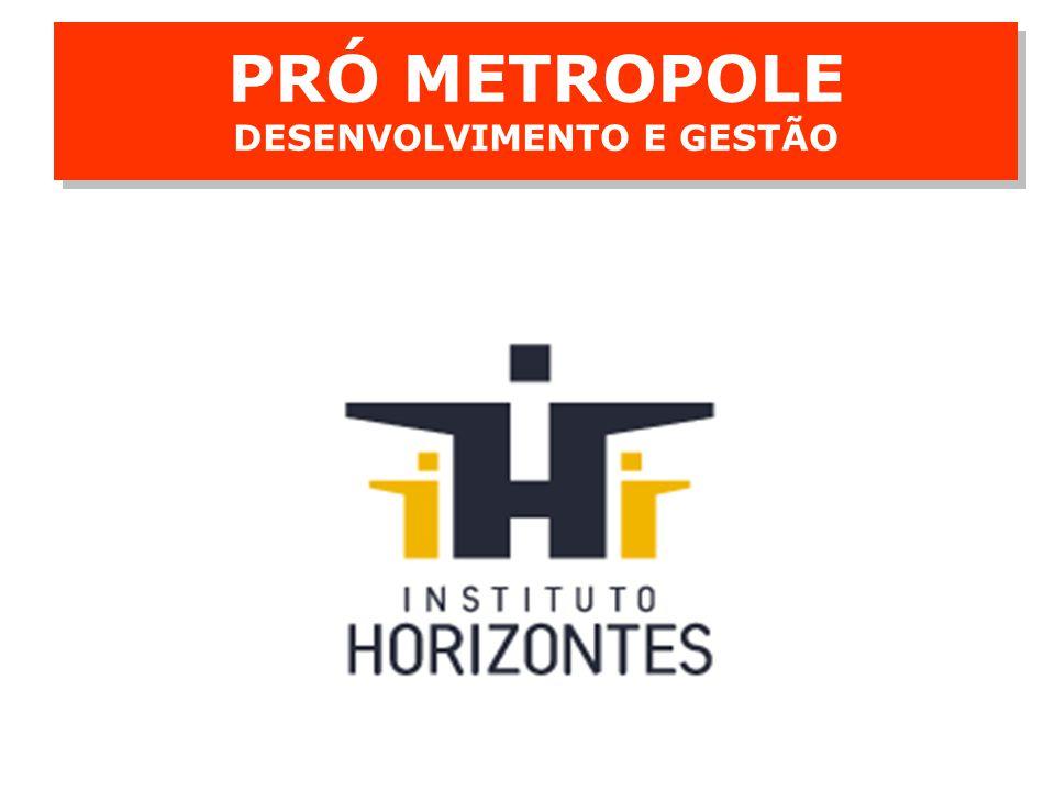 Consolidação do Diagnóstico e Cenários PRÓ METROPOLE DESENVOLVIMENTO E GESTÃO 4 4 Conferências públicas com a participação dos setores público, privado e da sociedade civil para consolidar o diagnóstico e discutir cenários alternativos para a Metrópole.