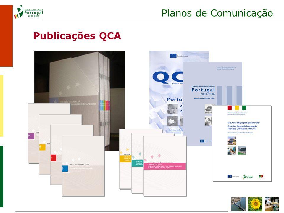 Planos de Comunicação Publicações QCA