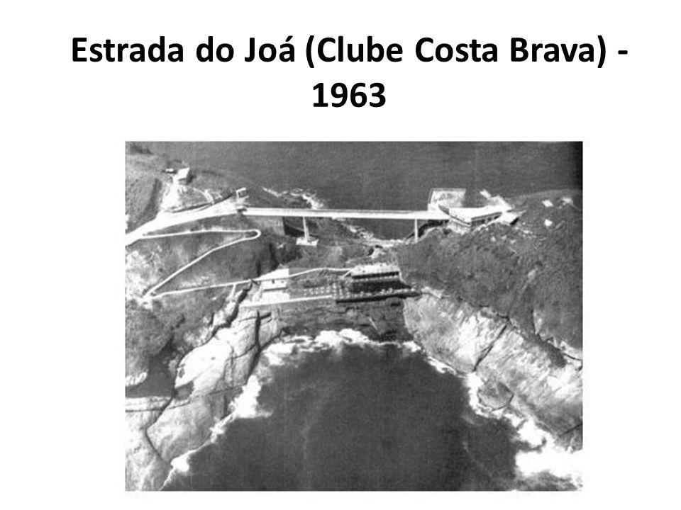 Estrada do Joá (Clube Costa Brava) - 1963