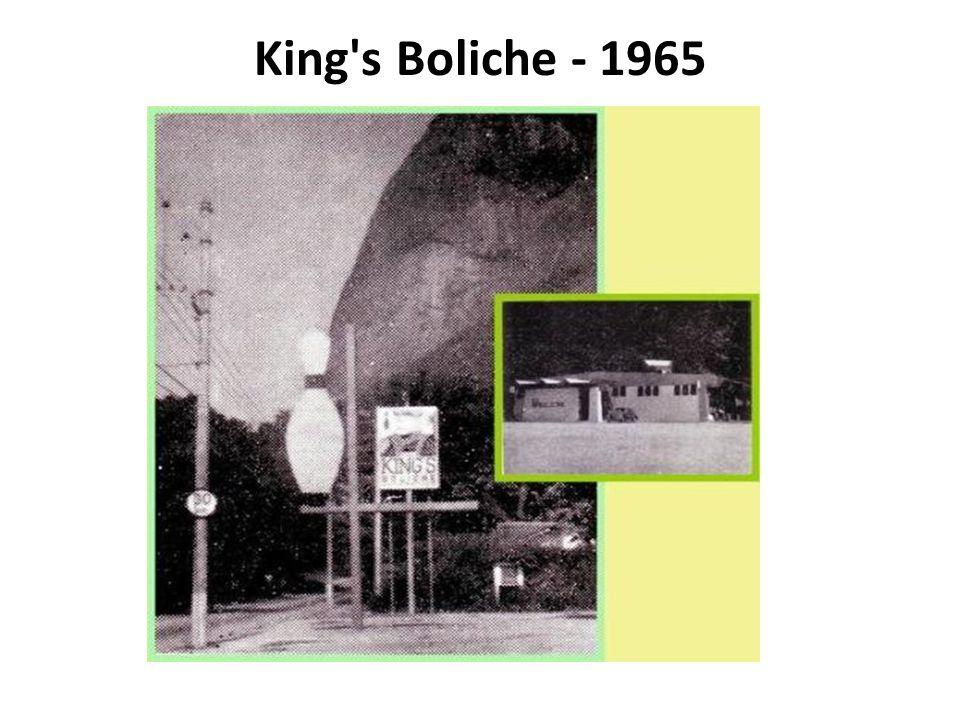 King's Boliche - 1965
