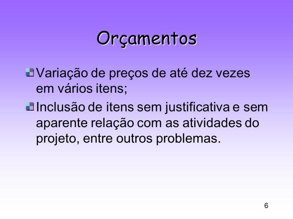 7 Currículo Lattes Importante ferramenta e base de informações sobre a atividade de pesquisa no país.