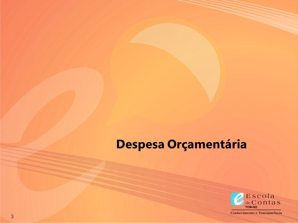 24 TEMPO FIXAÇÃO DA DESPESA FIXAÇÃO DA DESPESA DESCENTRALIZAÇÃO DE CRÉDITOS ORÇAMENTÁRIOS DESCENTRALIZAÇÃO DE CRÉDITOS ORÇAMENTÁRIOS TEMPO PROCESSO LICITATÓRIO PROCESSO LICITATÓRIO EMPENHO CONTRATO ENTREGA DE BENS E/OU SERVIÇOS ENTREGA DE BENS E/OU SERVIÇOS PAGAMENTO E RECOLHIMENTO PAGAMENTO E RECOLHIMENTO RETENÇÃO LIQUIDAÇÃO TEMPO EXECUÇÃO PROGRAMAÇÃO ORÇAMENTÁRIA E FINANCEIRA PROGRAMAÇÃO ORÇAMENTÁRIA E FINANCEIRA EXECUÇÃO PLANEJAMENTO 01.04.04.02 Estágios da Despesa Orçamentária