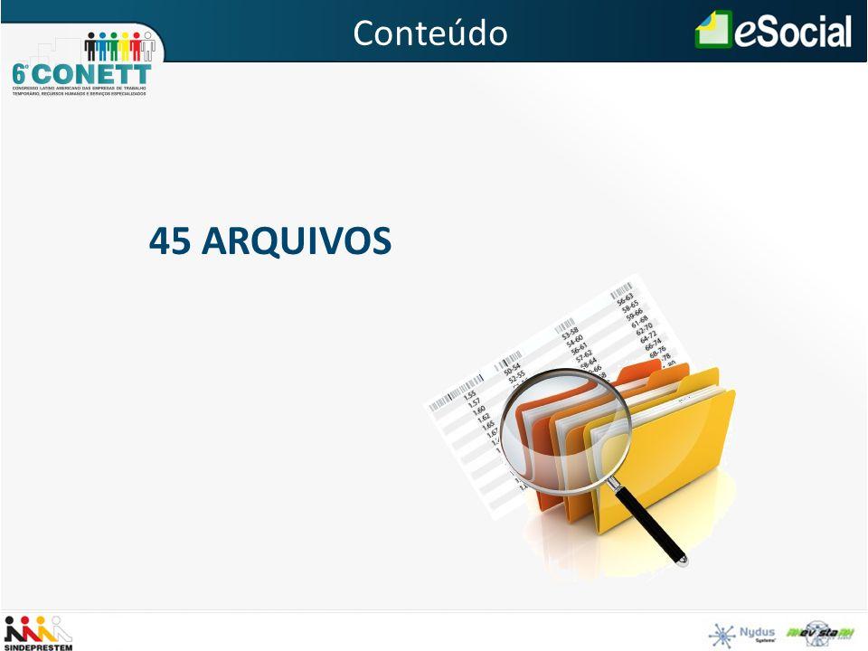 45 ARQUIVOS Conteúdo