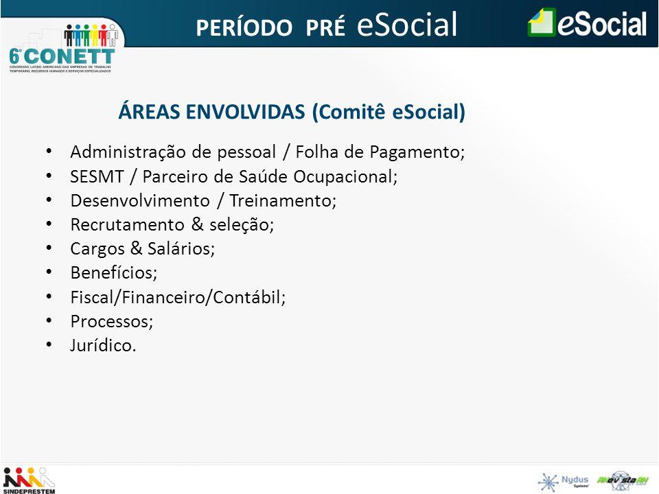 Administração de pessoal / Folha de Pagamento; SESMT / Parceiro de Saúde Ocupacional; Desenvolvimento / Treinamento; Recrutamento & seleção; Cargos &