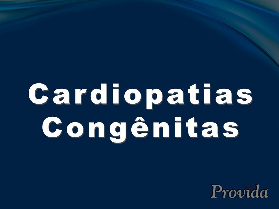 Coarctação da Aorta (CoAo) Clínica relacionada a hipertensão regional: Cefaléia Epistaxe Tontura Palpitação ICC no recém nato – primeira semana Frêmito palpável em precórdio