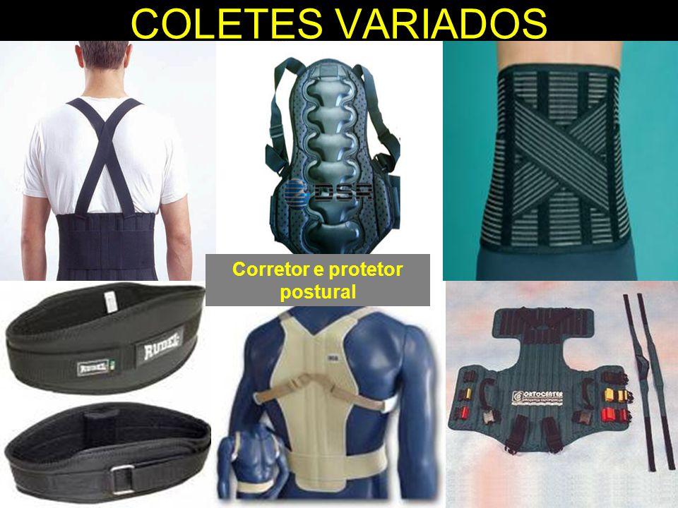 COLETES VARIADOS Corretor e protetor postural