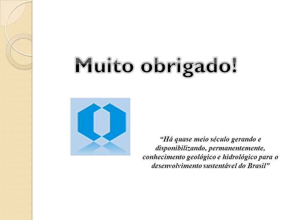 Há quase meio século gerando e disponibilizando, permanentemente, conhecimento geológico e hidrológico para o desenvolvimento sustentável do Brasil