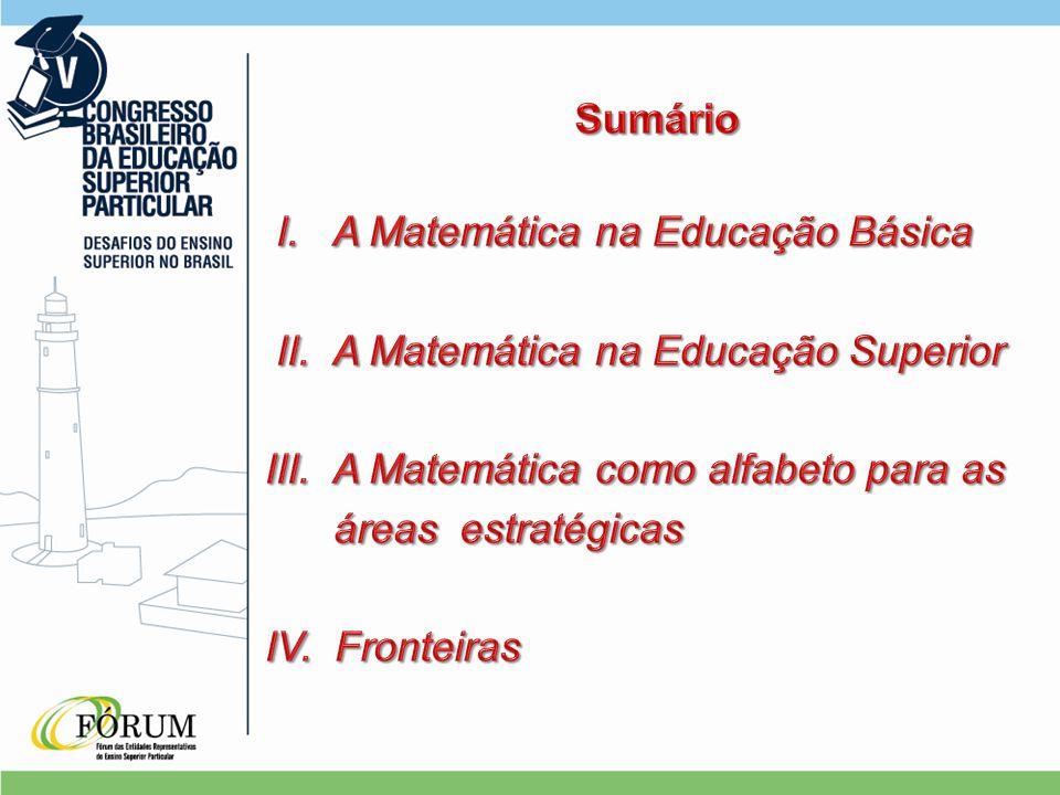 A Matemática na Educação Básica As Ciências (relações) Novas Tecnologias e a Informática Profissionais (Formação) Profissionais (Formação) Ambientes Ambientes Conteúdos Carreira Docente Educação Continuada