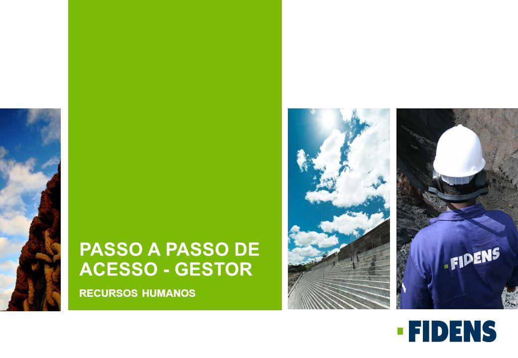 PASSO A PASSO DE ACESSO - GESTOR RECURSOS HUMANOS
