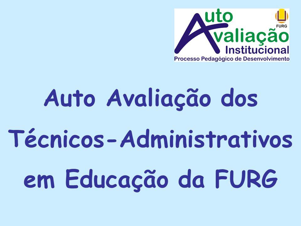 Auto Avaliação dos Técnicos-Administrativos em Educação da FURG