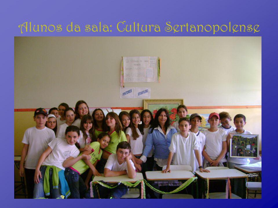 Alunos da sala: Cultura Sertanopolense