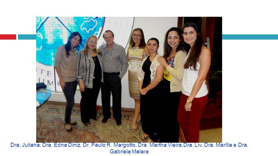 Dra. Juliana, Dra. Edna Diniz, Dr. Paulo R. Margotto, Dra. Martha Vieira,Dra. Liv, Dra. Marília e Dra. Gabriela Melara