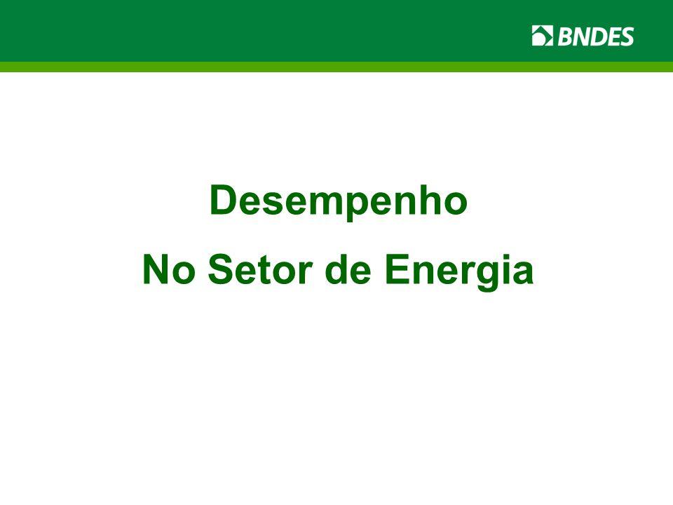 Desempenho No Setor de Energia