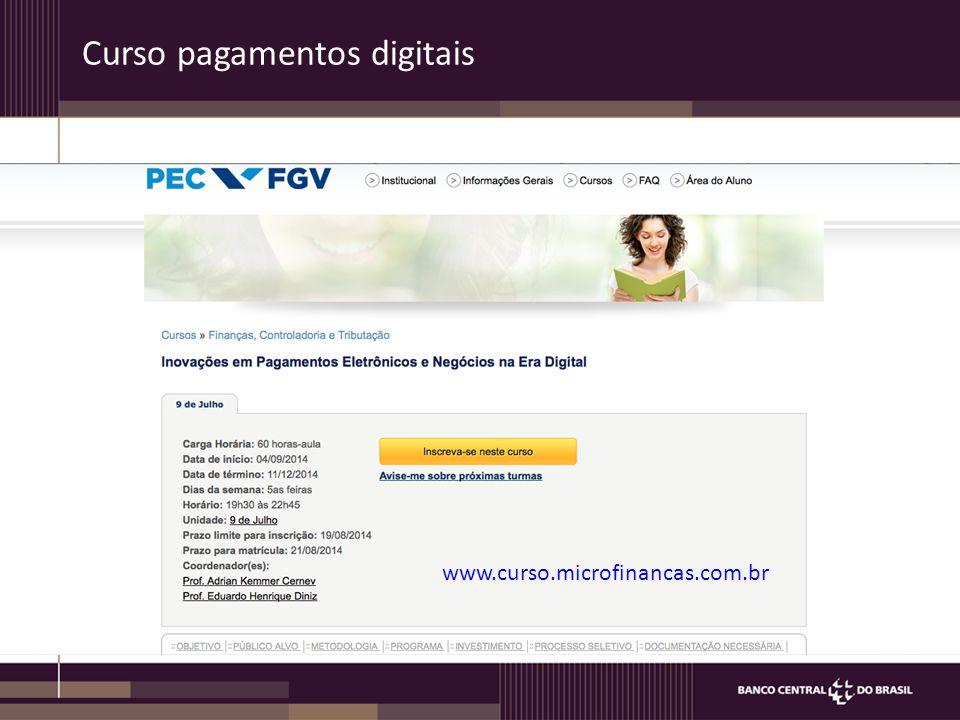 Arranjos Person-to-Business (P2B) and Business-to-Person (B2P) Exemplo P2B: pagamento de contas