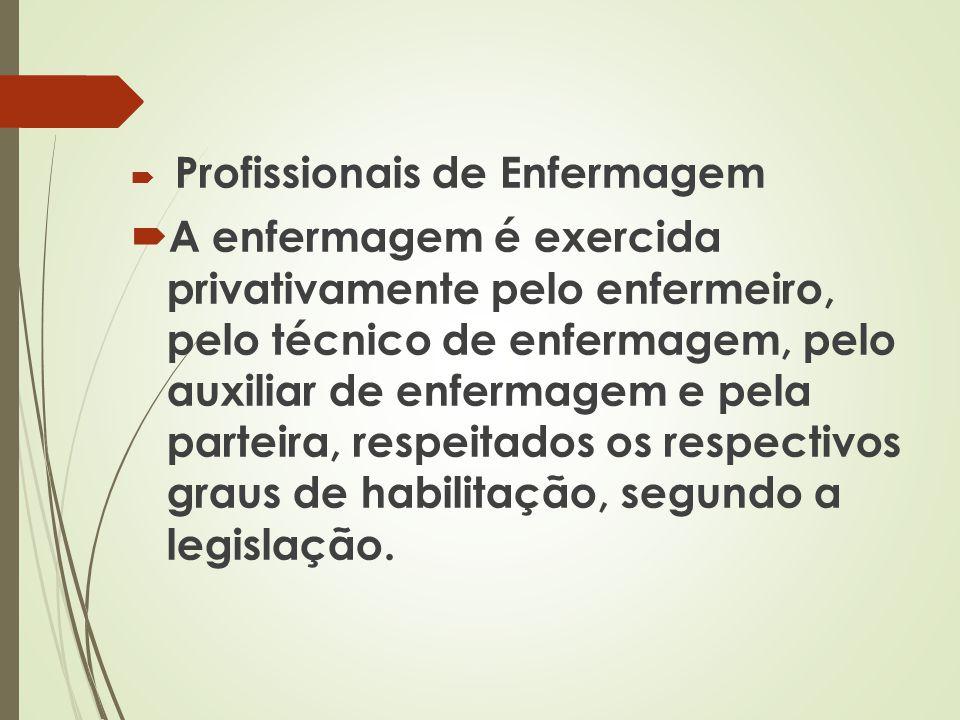 Formação de Enfermeiro / Para exercer a profissão: Tem que ter feito curso superior por pelo menos 5 anos ou 4.000 horas.Ter diploma de instituição brasileira ou estrangeira, expedido de acordo com a legislação e registrado pelo órgão competente.