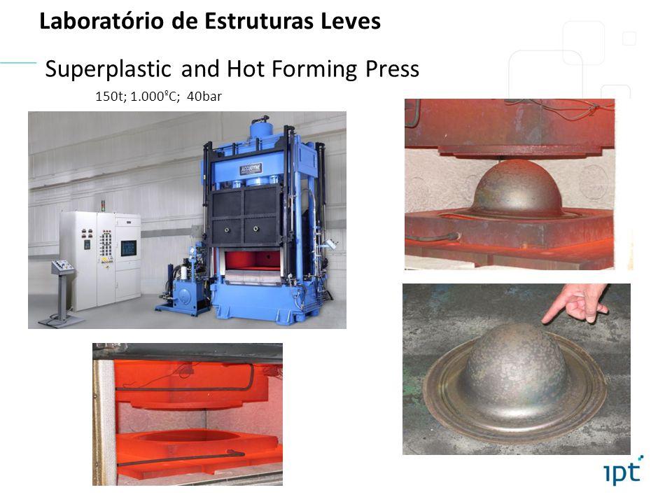 Friction Stir Welding 5-axis, 30kW spindle Soldagem por Atrito de Chapas Laboratório de Estruturas Leves