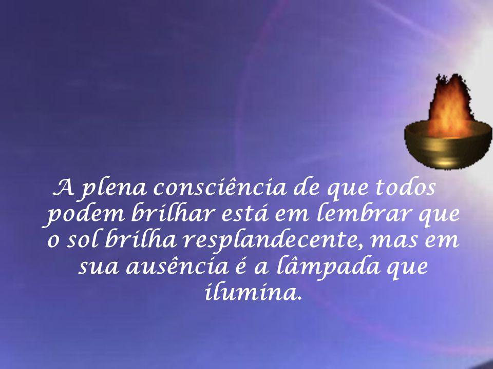 Até Jesus, ao curar os leprosos disse: A TUA fé te curou .