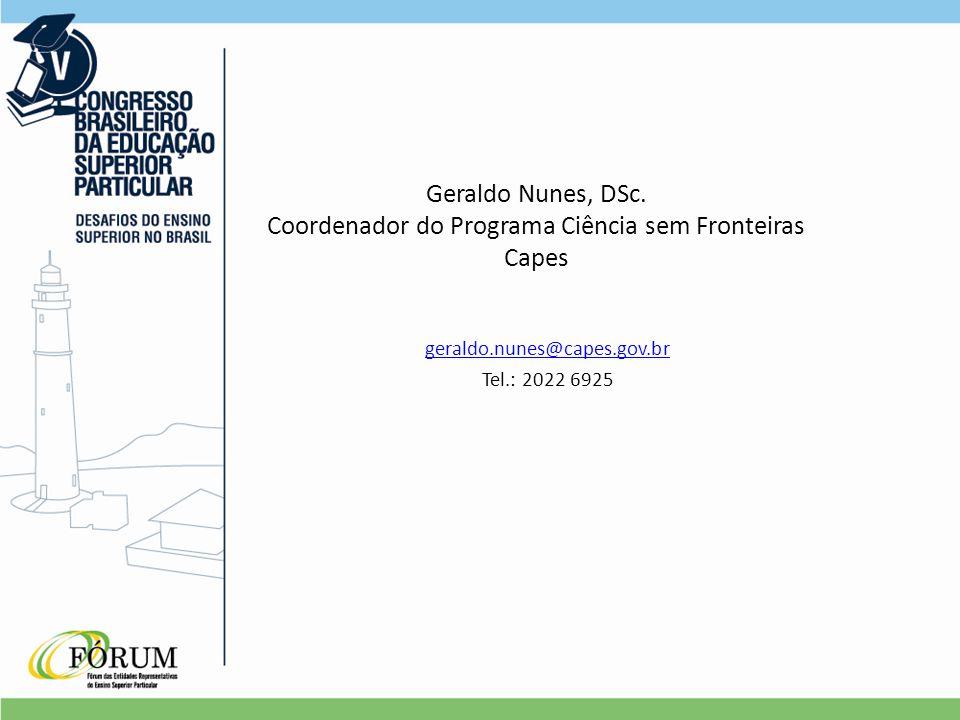 Geraldo Nunes, DSc.