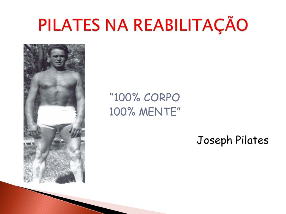 """""""100% CORPO 100% MENTE"""" Joseph Pilates"""