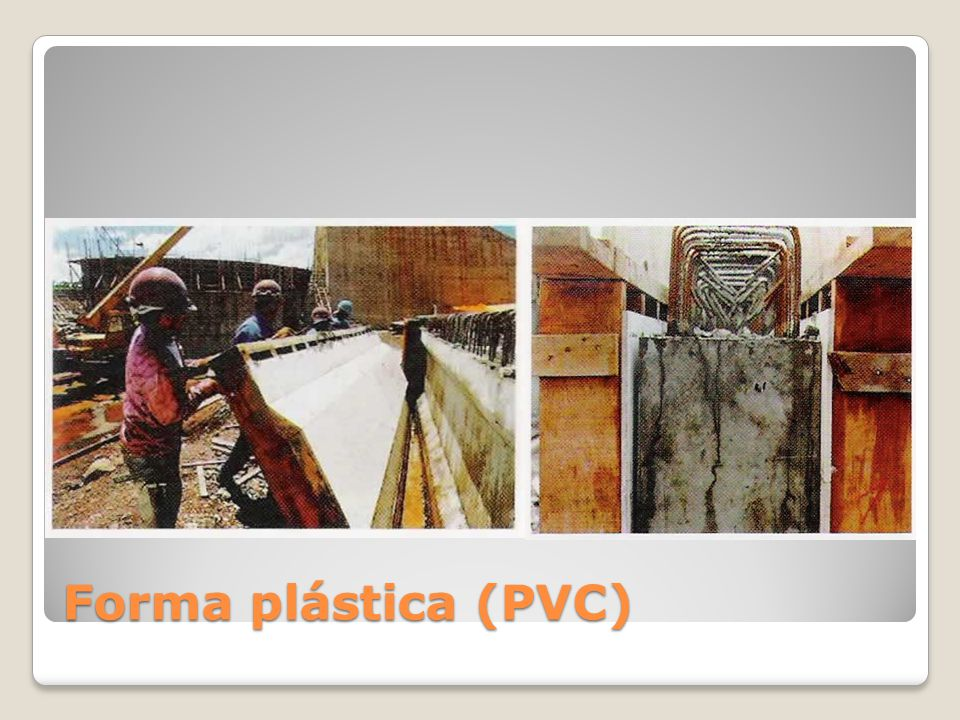 Forma plástica (PVC)