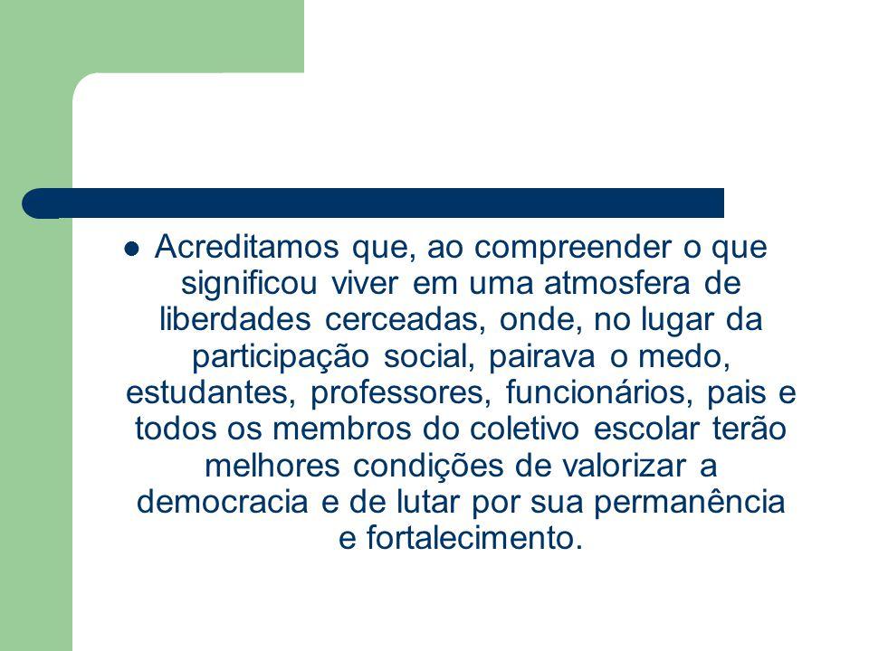Contexto Desde a promulgação da Constituição Federal de 1988, conhecida como Constituição Cidadã, foram registrados muitos avanços na garantia dos direitos civis e políticos à população brasileira, depois de longos anos de restrições e privações de todas as formas de liberdade.