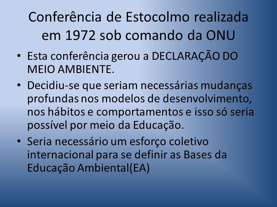 Visão militarista No Brasil, o quadro político vigente (militarismo) era ditatorial e a EA foi vista como um processo de natureza revolucionária e subversiva e foi reprimida.