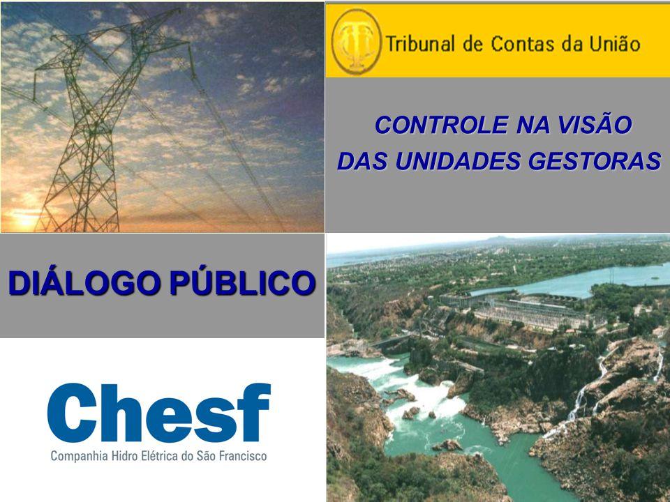 OBRIGADO jba@chesf.gov.br www.chesf.gov.br 55-81-32292225 João Bosco de Almeida Diretor Administrativo da Chesf