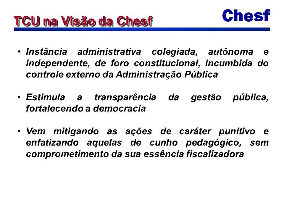 Instância administrativa colegiada, autônoma e independente, de foro constitucional, incumbida do controle externo da Administração Pública Estimula a