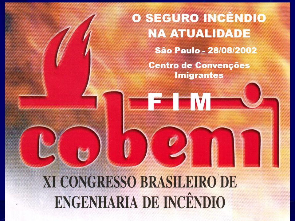 XI CONGRESSO BRASILEIRO DE ENGENHARIA DE INCÊNDIO Miguel Roberto Soares Silva Trevizan & Associados Corretora de Seguros Tel. 5 1 8 1 – 4 9 9 9 E-Mail