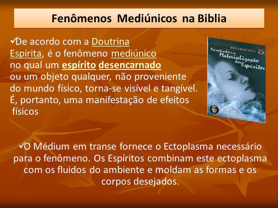 De acordo com a DoutrinaDoutrina EspíritaEspírita, é o fenômeno mediúnicomediúnico no qual um espírito desencarnadoespíritodesencarnado ou um objeto q