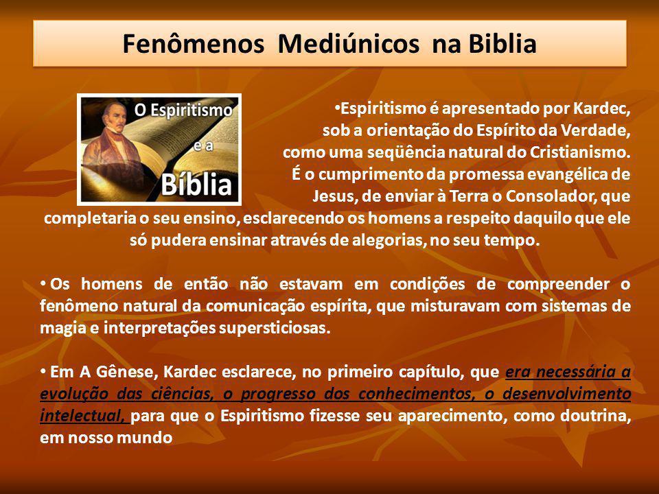 Espiritismo é apresentado por Kardec, sob a orientação do Espírito da Verdade, como uma seqüência natural do Cristianismo. É o cumprimento da promessa