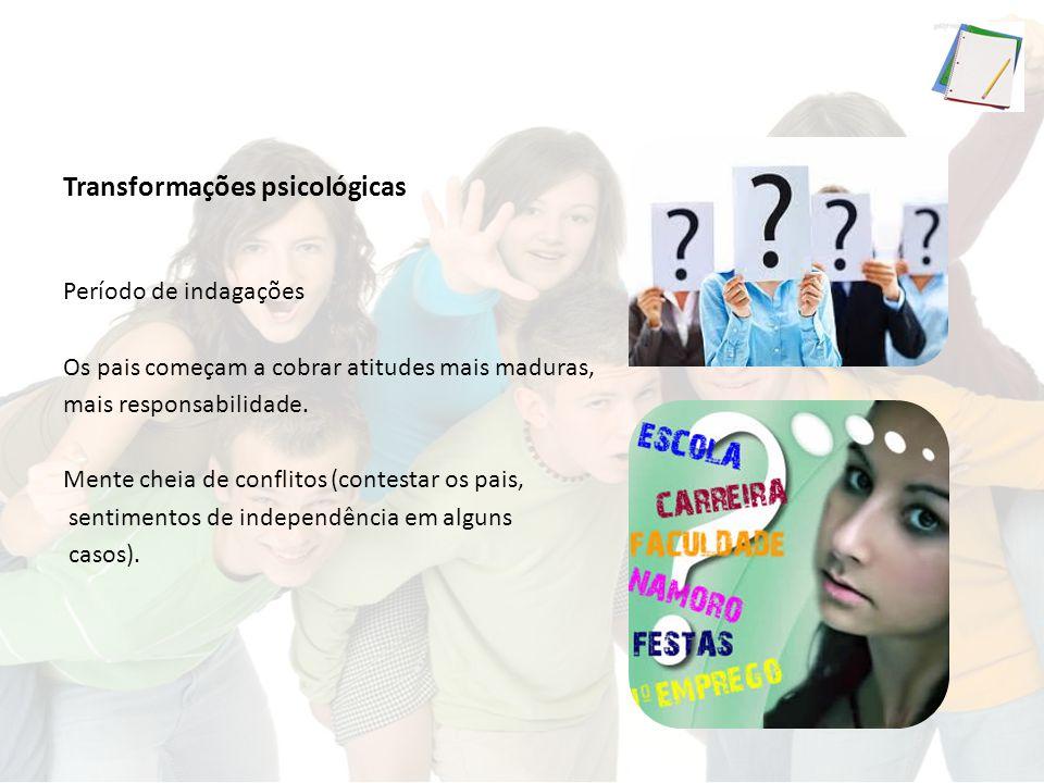 Mãe adolescente Uma em cada cinco crianças nascidas no Brasil são de mães adolescentes (2006) = 20% Em 2013 = 19,3% Anualmente, acontecem até 3,2 milhões de abortos inseguros em países em desenvolvimento envolvendo adolescentes de 15 a 19 anos.