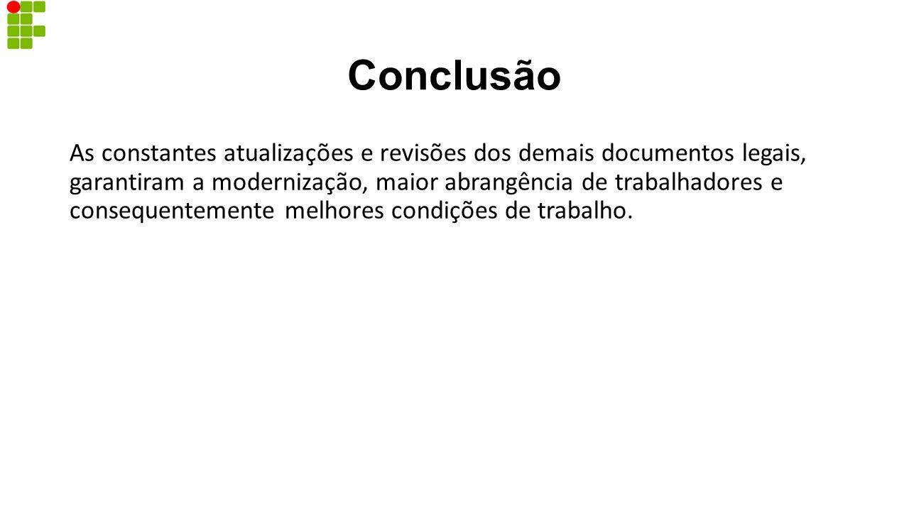 REFERÊNCIAS Norma Regulamentadora 16.