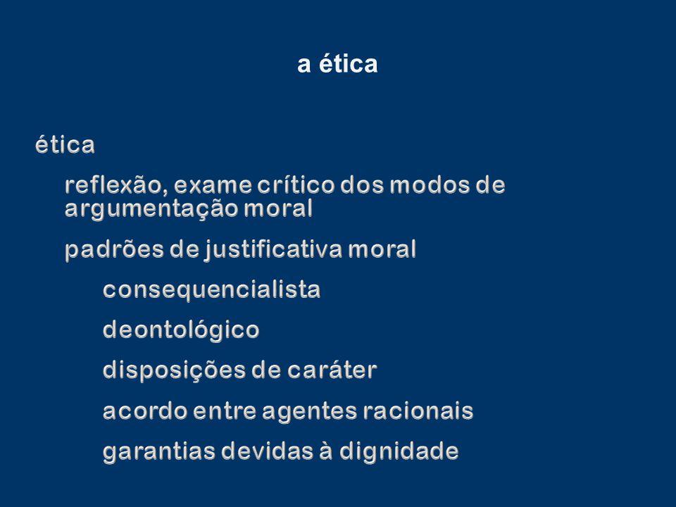 a ética