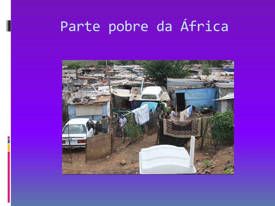 Parte rica da África Cidade do Cabo