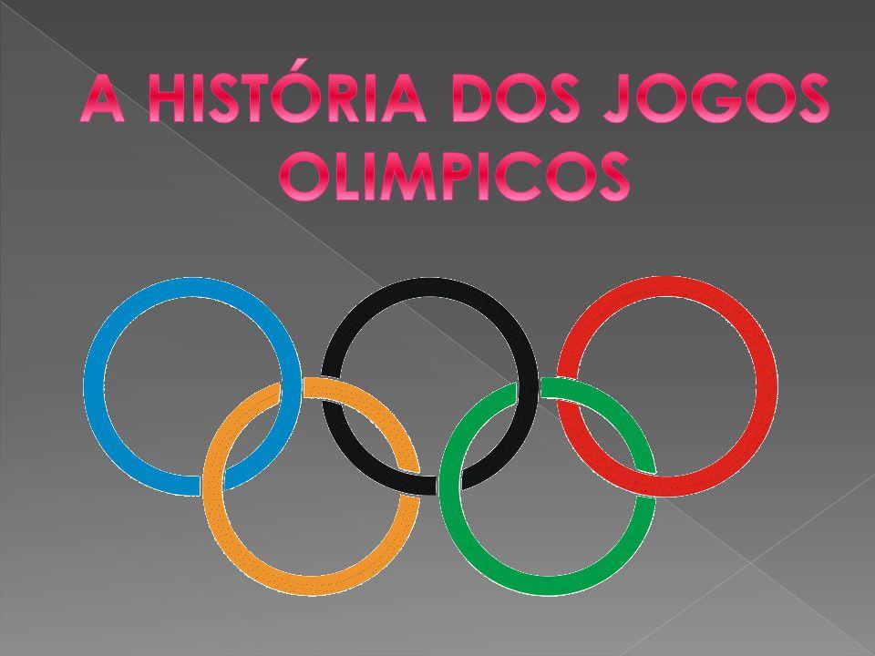  Com este trabalho pretendemos aprender várias coisas sobre os Jogos Olímpicos.