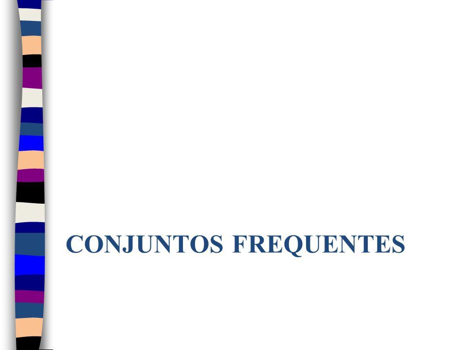 CONJUNTOS FREQUENTES