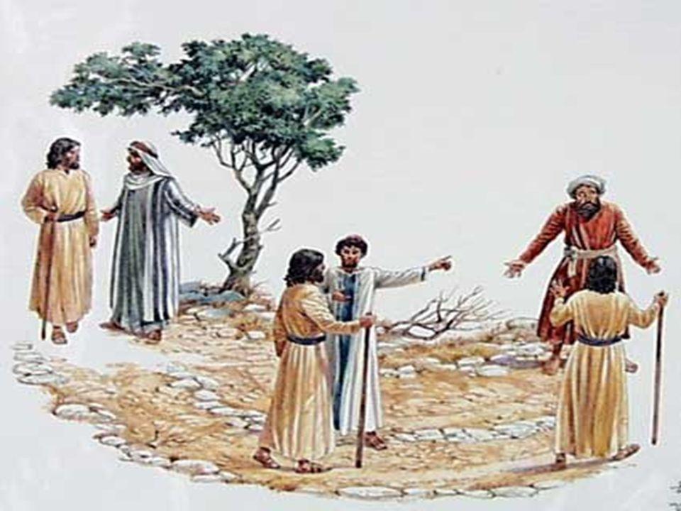 + Para Jesus, criticado porque acolhia pecadores e publicanos, - os primeiros chamados foram os judeus, como povo escolhido e herdeiro das promessas;