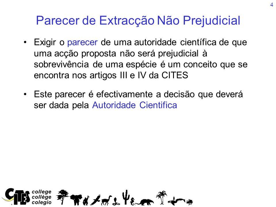 15 Extracção Não Prejudicial Resolução Conf.