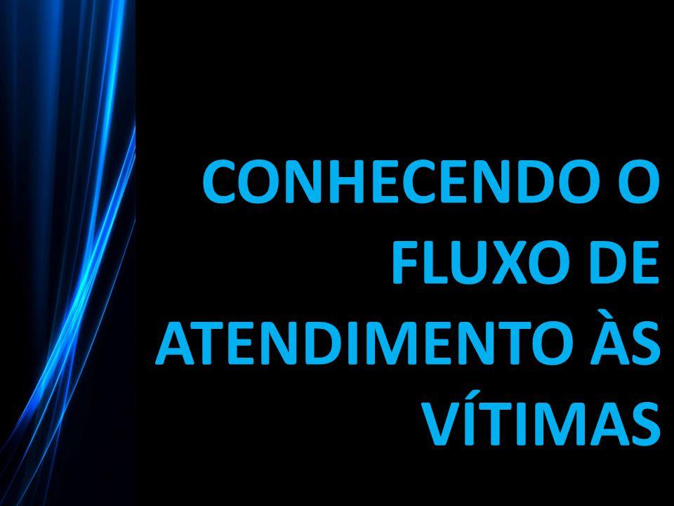 CONHECENDO O FLUXO DE ATENDIMENTO ÀS VÍTIMAS