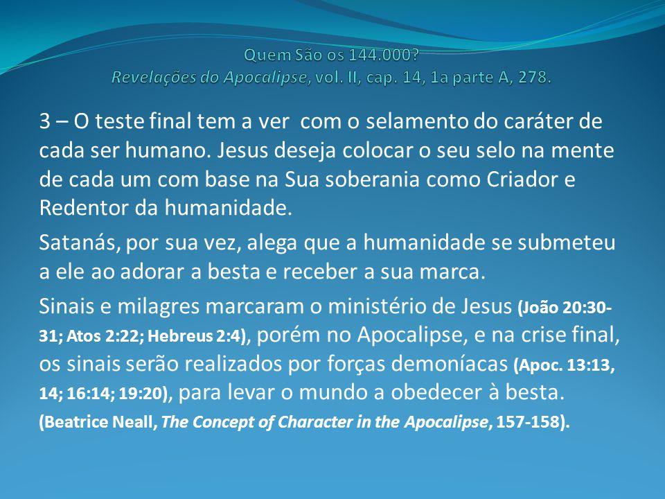14 – A prova para a confirmação de uma teoria: A Palavra de Deus precisa ser reconhecida como estando acima de toda a legislação humana.
