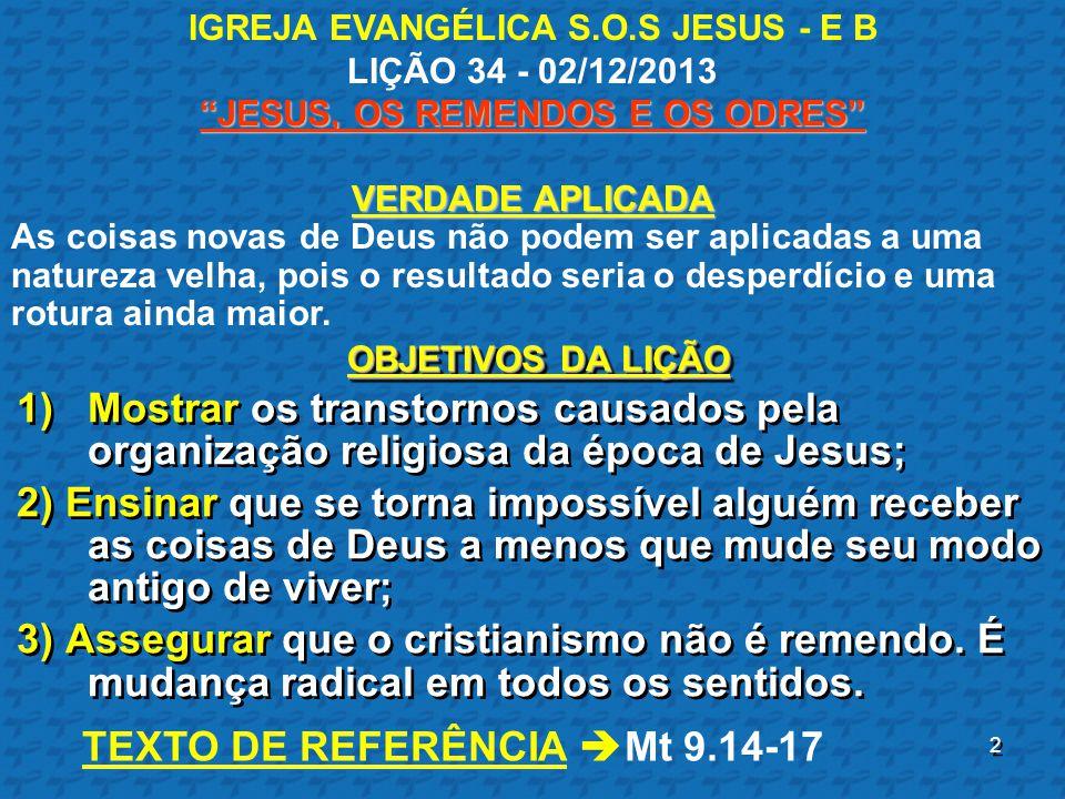 3 INTRODUÇÃO ۩Os discípulos de Jesus estavam alegres: ۩Sentimento inevitável.