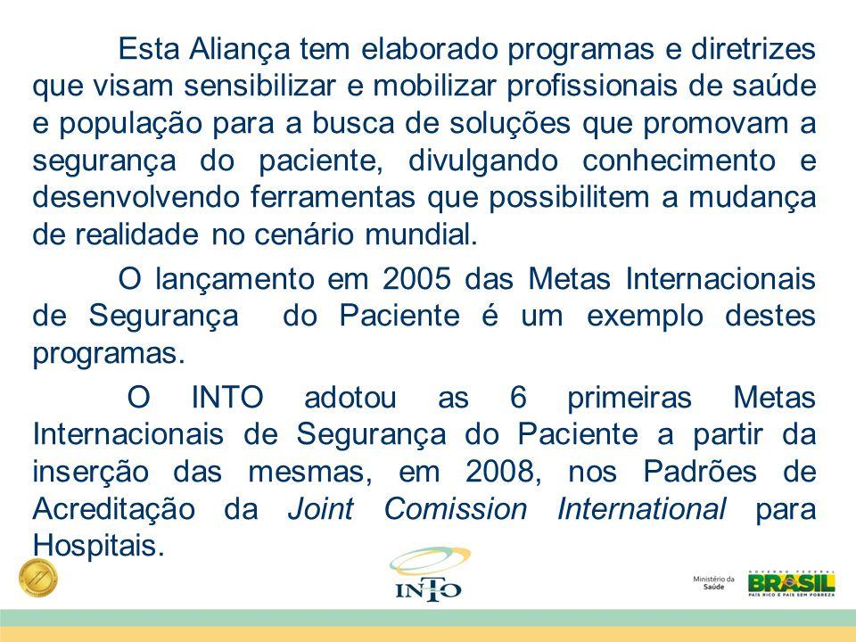 Esta Aliança tem elaborado programas e diretrizes que visam sensibilizar e mobilizar profissionais de saúde e população para a busca de soluções que p