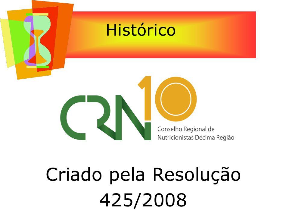 Histórico Criado pela Resolução 425/2008