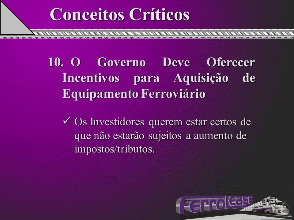 Conceitos Críticos 10.