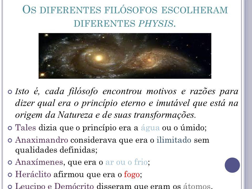 QUESTÃO 01 A cosmologia é a parte da filosofia, que estuda o mundo, a natureza, dialogando com a parte da metafísica, que se ocupa da essência da matéria.