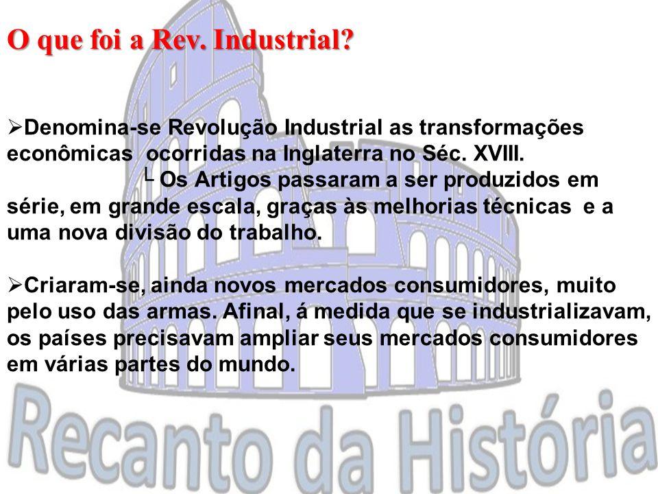O que foi a Rev. Industrial.