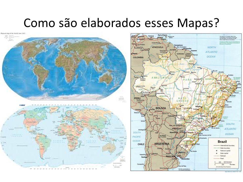 Como são elaborados esses Mapas?