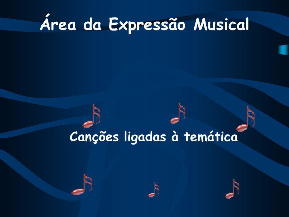 Área da Expressão Musical Canções ligadas à temática
